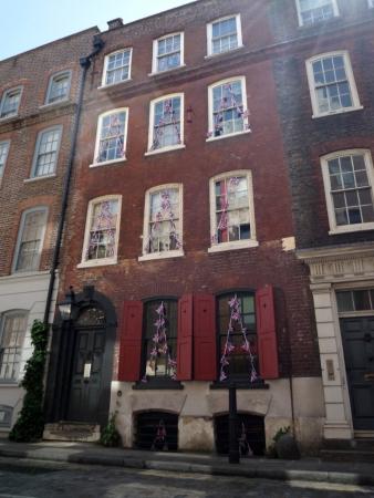 Dennis Severs house, Folgate Street.