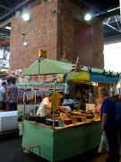 Stall in the old Truman's Brewery