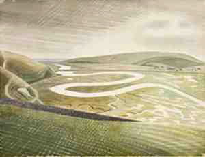Cuckmere-Haven-by-Eric-Ravilious-1939