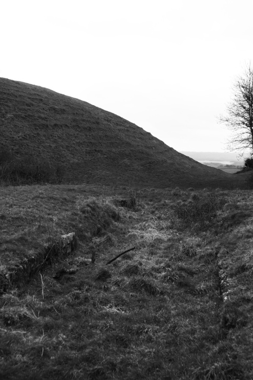 Maes Knoll Iron Age Fort on Dundry Hill