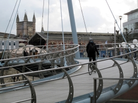 Valentine's Bridge and Temple Meads