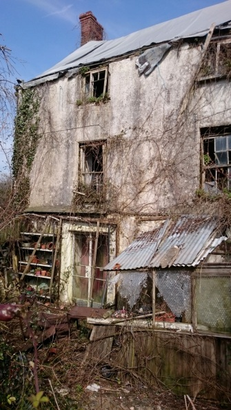 Sadly neglected house