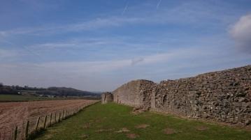 Impressive Roman defencive walls