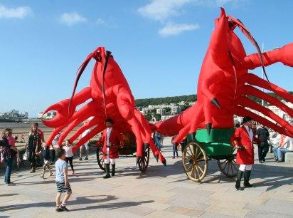 Lobster a la Cart, Weston-super-Mare