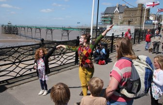 Jester on the Pier, Clevedon
