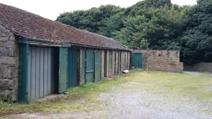 Once part of the Norton Hall farmyard, now Graves Park maintenance depot